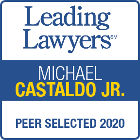 Award for Michael Castaldo, Jr by Leading Lawyers 2020